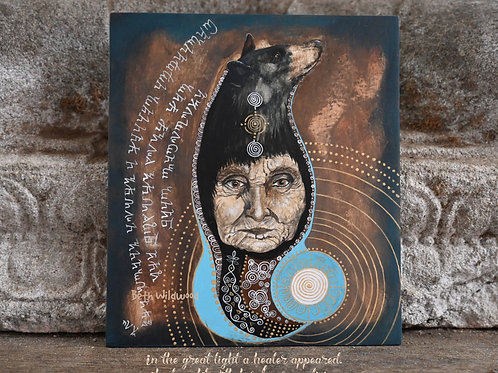 The Healer Original painting
