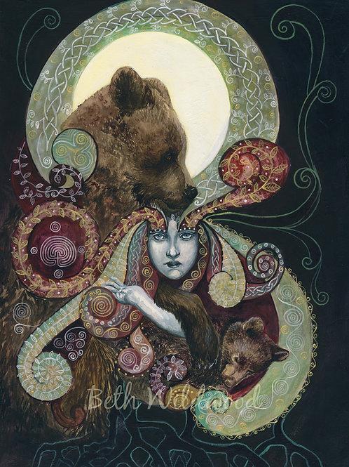 Waking From a Winter's Dream / Bear Guardian