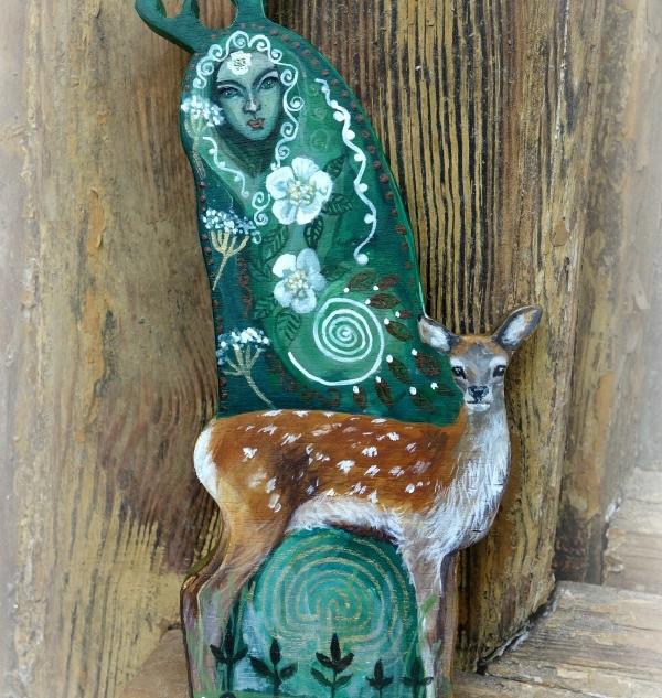 Deer Goddess