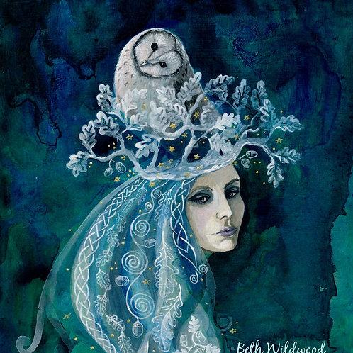 White Oak Healing Giclee Print