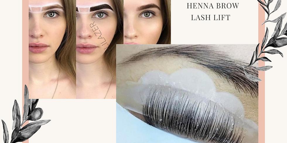 LASH LIFT - HENNA BROW // 17 janvier 2021