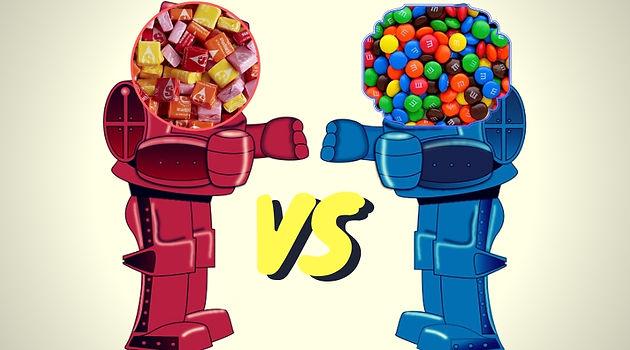 Gerty's Great Debate: Favorite Halloween Candy -- Starbursts
