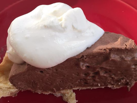 Easy Peasy Chocolate Pie