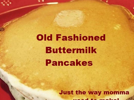 Momma's Old Fashioned Buttermilk Pancakes