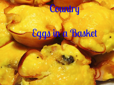 Low Carb Country Eggs in a Basket