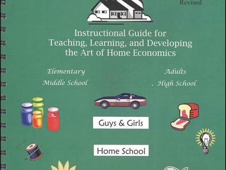 Home Ec Classes Starting January 5th