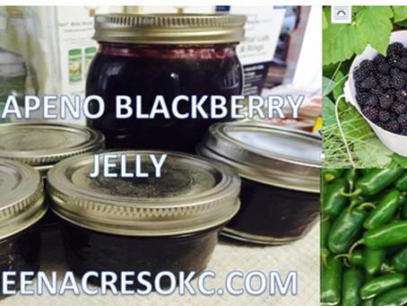 Blackberry Jalapeno Jelly