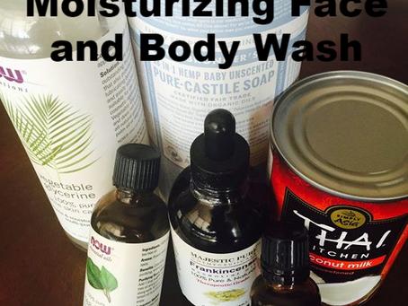 Moisturizing Coconut Milk Face and Body Wash