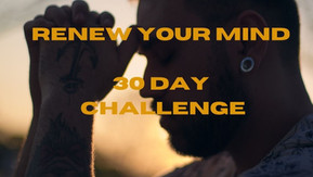 30 Day Renew Your Mind Challenge