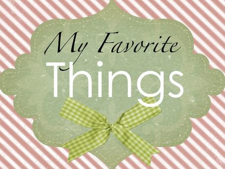Nancy's favorite things!