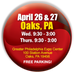 Design2Part Trade Show in Oaks, PA -  April 26-27