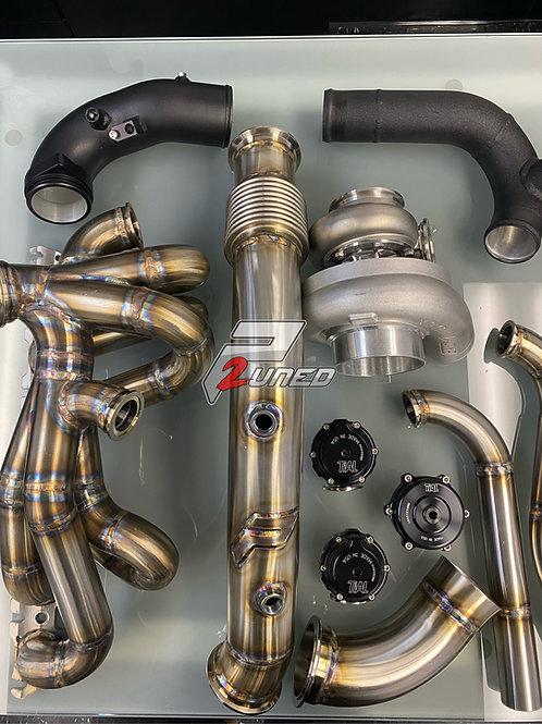 P2uned A90 Supra Turbo Kit