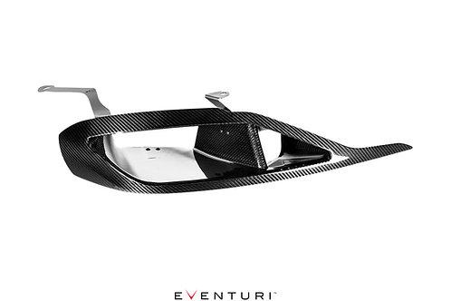 Eventuri A90 Supra headlamp duct