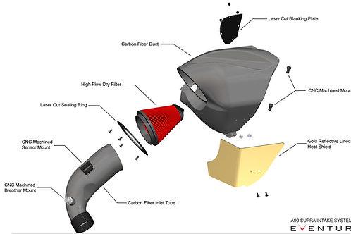 Eventuri A90 Supra Air Intake Carbon Box