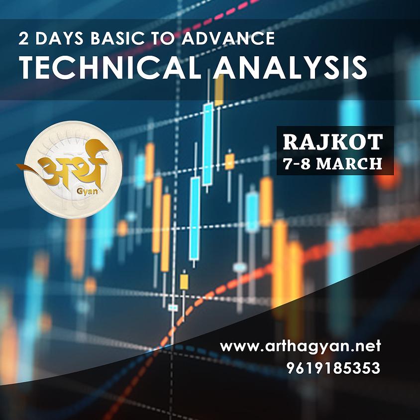2 Days Basic To Advance Technical Analysis Workshop In Rajkot