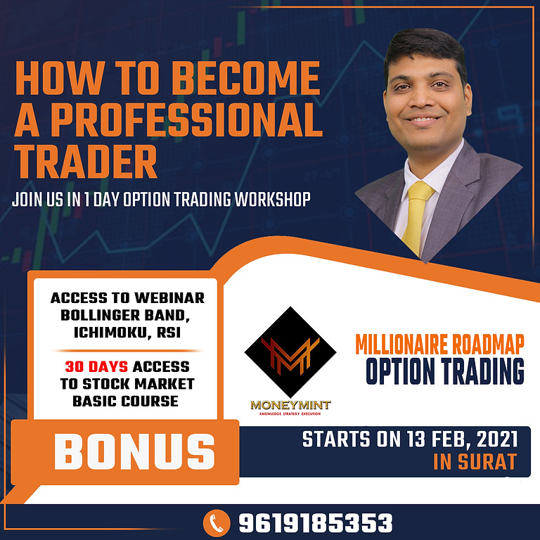 Millionaire Roadmap Option Trading Workshop In Surat