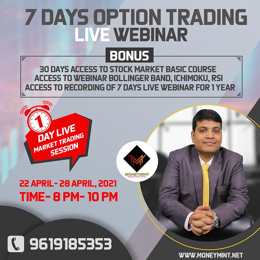 7 Days Option Trading Live Webinar