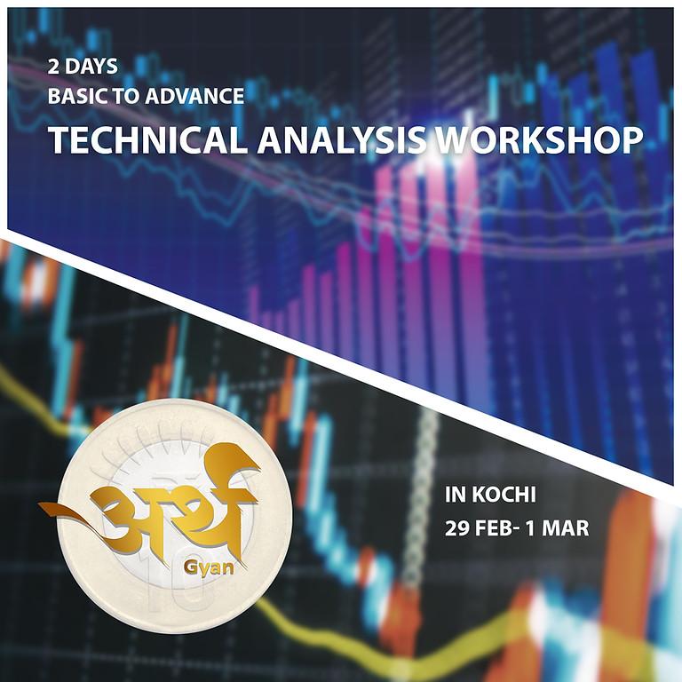 2 Days Basic to Advance Technical Analysis Workshop In Kochi