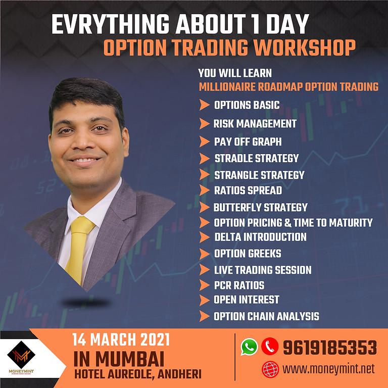 1 Day Option Trading Workshop In Mumbai