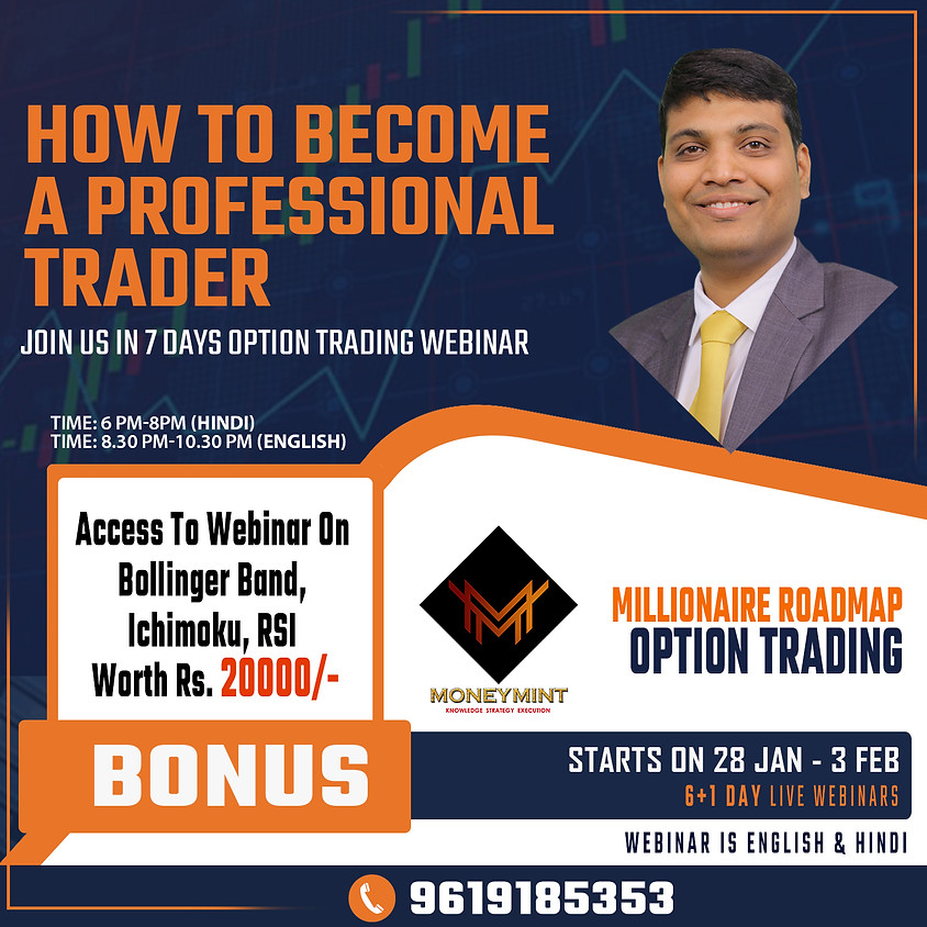7 Days Option Trading Live Webinars