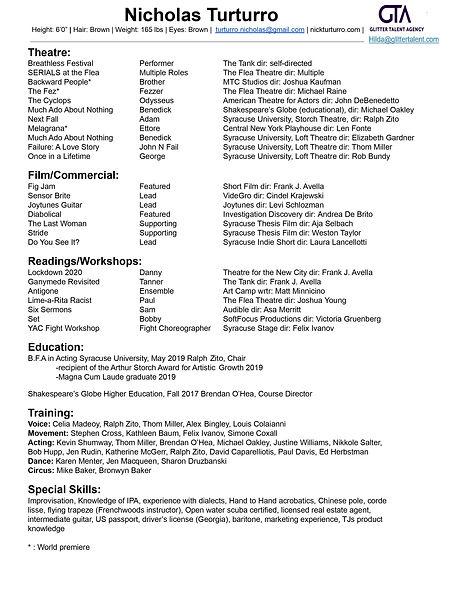 Nick Turturro acting resume one page.jpg