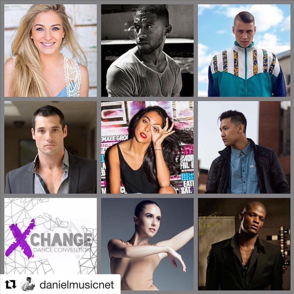 Daniel Thomas will be touring with @xchangedanceconvention has one of their official faculty members this year!!! Along with Jessica Richens, Denzel Chisolm, Blake, John Wood, John Hoffman,Paris Cavanagh, Talia Fowler, and  Herman Payne  This is one amazing faculty from the US all the way to Australia don't miss out follow Xchange Dance Convention on Instagram and Facebook for more information.