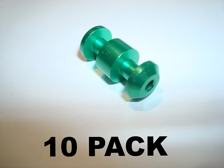 10 pack GREEN loading assist buttons (no loading tool)