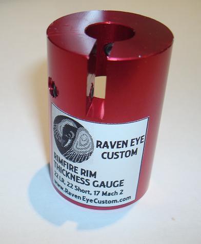 22LR Rim thickness gauge
