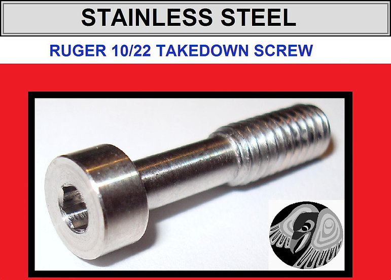 Ruger 10/22 Stainless Stock Takedown Screw