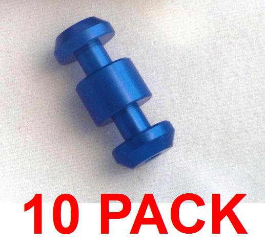 10 pack BLUE loading assist buttons (no loading tool)