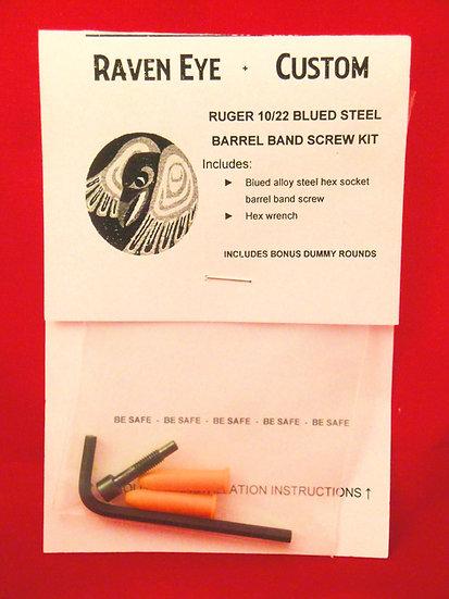 Ruger 10/22 Blued Barrel Band Screw
