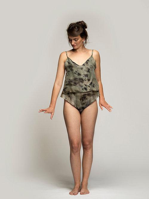 Ecoprinted Silk Sexies