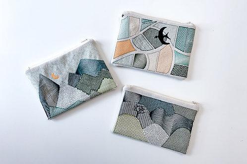 Textile landscapes * pouch