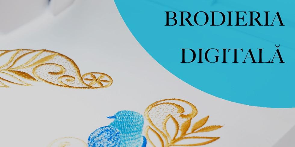 Curs practic de BRODERIE DIGITALĂ / DIGITAL EMBROIDERY workshop
