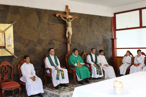 Eucaristía con Amigos del Seminario: Febrero