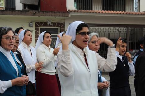 Peregrinación a la Basílica de Guadalupe, El Dique, Xalapa