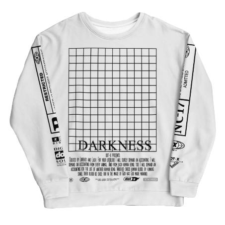 DARKNESS - UNISEX SWEATSHIRT