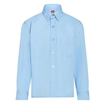 "Boys Long Sleeved Shirt (2 Pk) (Neck Size 10.5"" to 14"")"