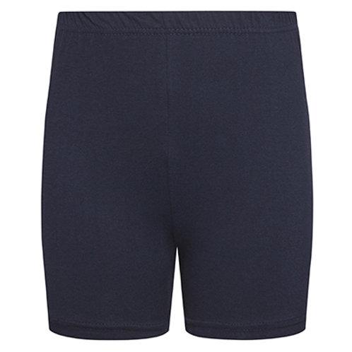 DL46 Girls Stretch Cotton Gym Short