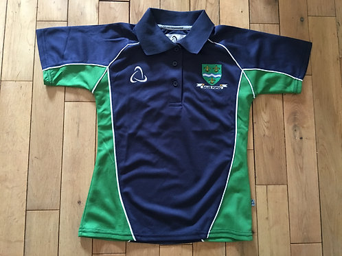 """OLCC Girls Polo Top (size 28"""" to 33"""")"""