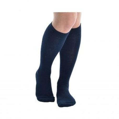 Girls Knee length Navy Socks Pack of 3