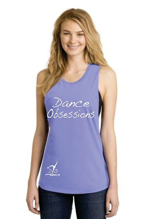 "Dance Obsessions Loose fit ""Festival Tank"""