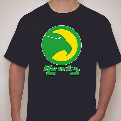 Retro Nighthawks Logo  T-shirt