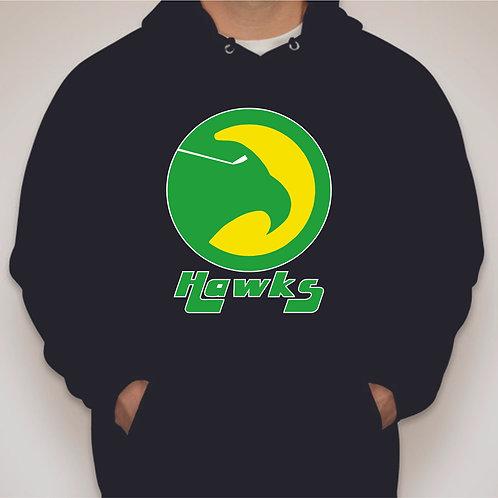 Retro Nighthawks Logo Hooded Sweatshirt