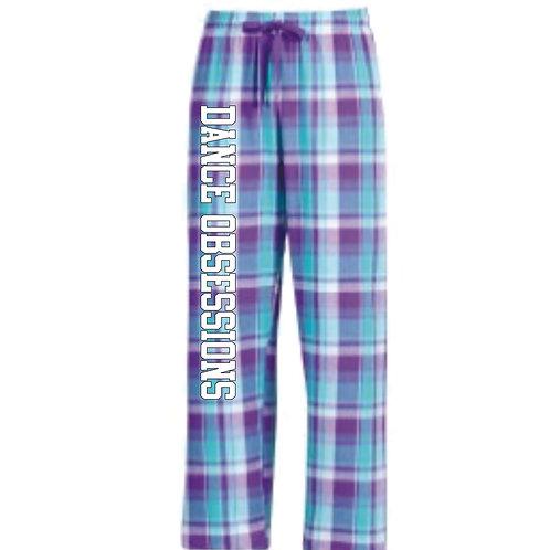 Purple/Teal Flannel Pants