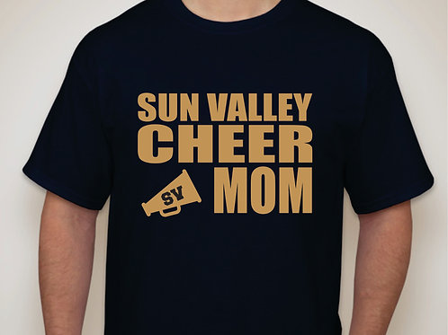 SV Cheer Mom T-shirt