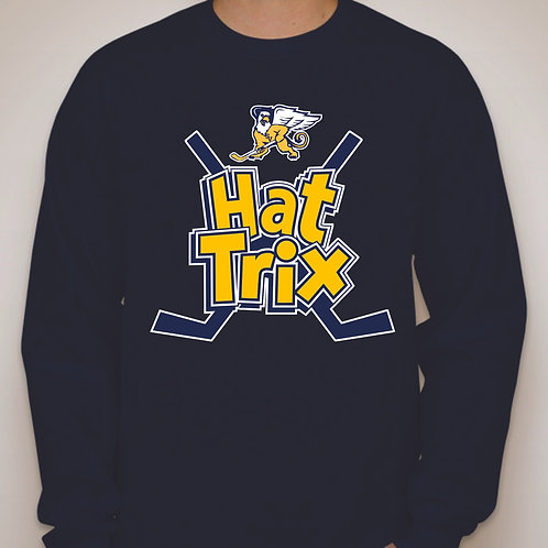 Hat Trix Logo Long Sleeve T-shirt