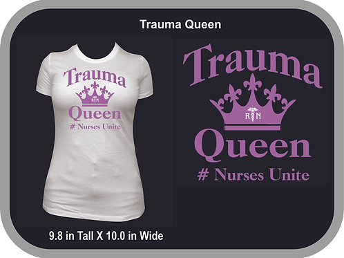 Trauma Queen, Purple