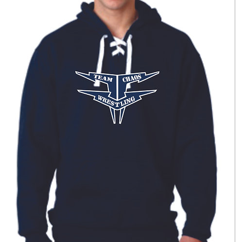Team Chaos Hockey Style Hooded Sweatshirt