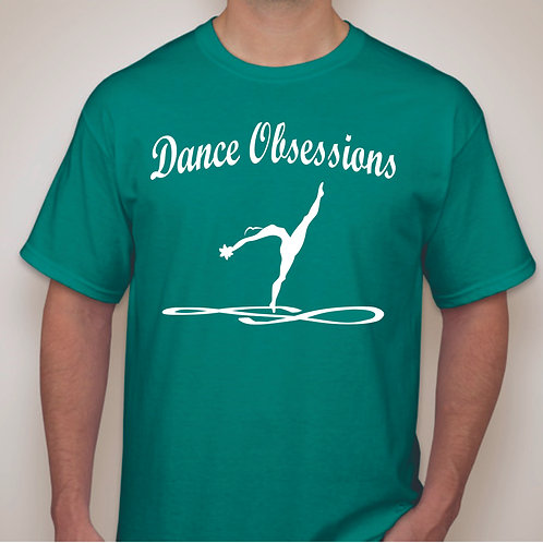 Short Sleeve Dance Obsessions Dancer T-Shirts